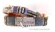 Luxus Schmuckhalsband Black Pearl